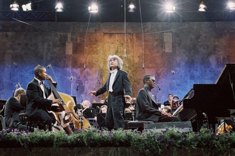 Die Berliner Philharmoniker in der Waldbühne